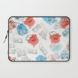 Cute Car Design Laptop Sleeve