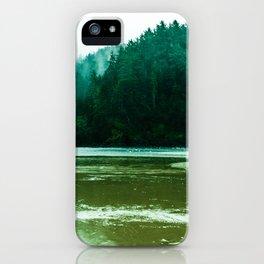 Foggy Beach in Oregon iPhone Case