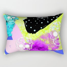 Neon Sugar Rectangular Pillow