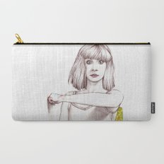 Maddie Ziegler Portrait Carry-All Pouch