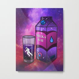 Got Milky way? Metal Print