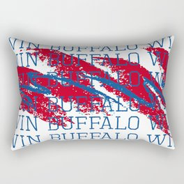 WIN BFLO FOOTBALL Rectangular Pillow