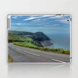 Lynmouth Bay, Devon, England Laptop & iPad Skin
