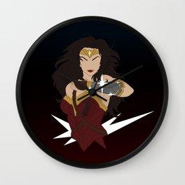 Woman of Wonder Minimalist Wall Clock