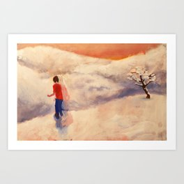 """Still From Animation """"A Journey to Recovery"""" Art Print"""