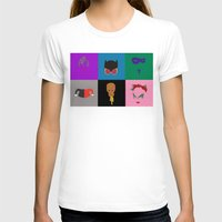 gotham T-shirts featuring Gotham Villains by Whimsy Notions Designs