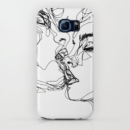 kiss more often (B & W) iPhone Case