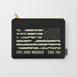 USS John Warner Carry-All Pouch