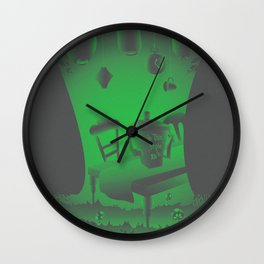 Hatter Wall Clock