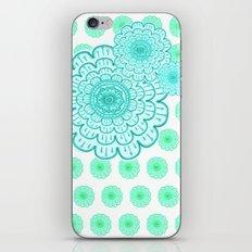 seafoam & blueeeey iPhone & iPod Skin