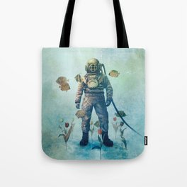 Deep Sea Garden  Tote Bag