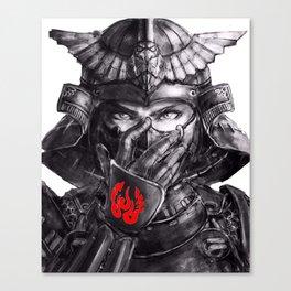 Samurai Clasic Canvas Print