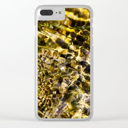 Abstract - Water ripples Clear iPhone Case