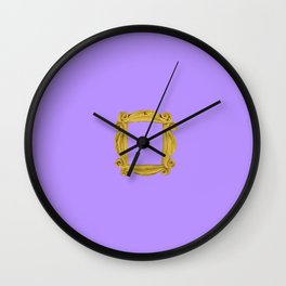 Friends Peephole Wall Clock