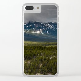 Yukon Wilderness Clear iPhone Case