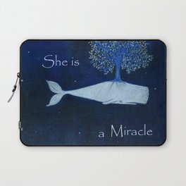 She is a miracle Laptop Sleeve