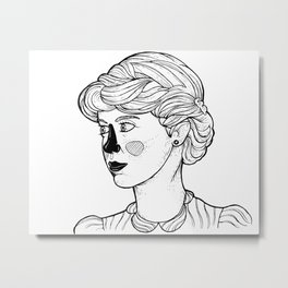 KATE (Kingston Falls 1984) Metal Print