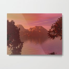 Mornings Glory Metal Print
