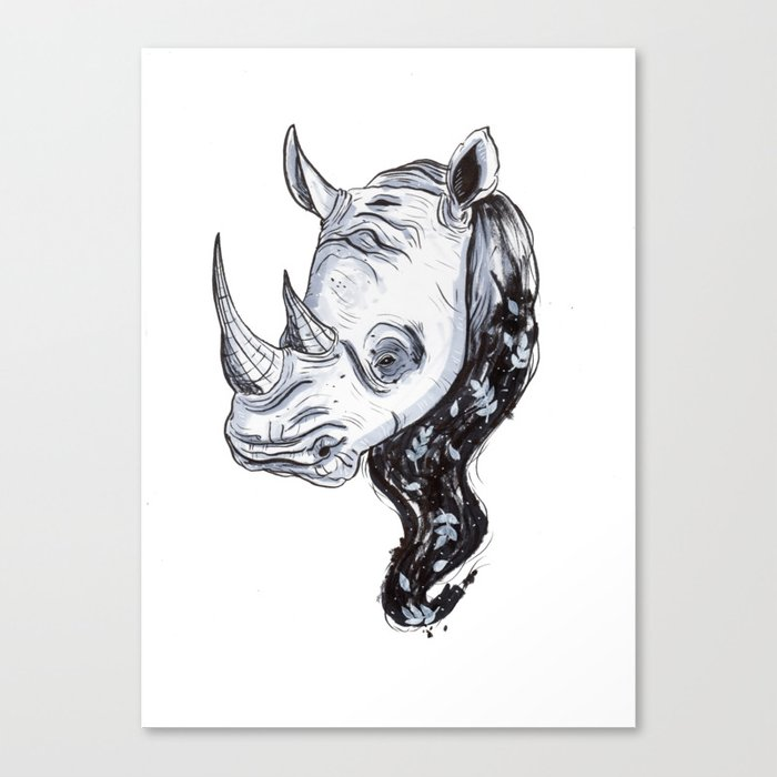 Rhinhost Canvas Print