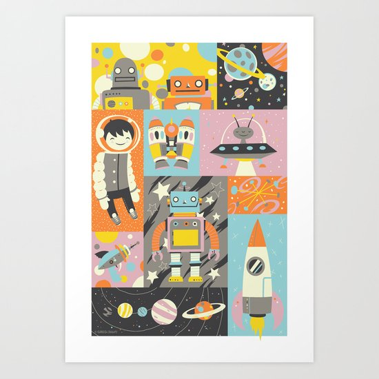 Give Us Space Art Print