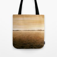 desert Tote Bags featuring Desert by AhaC