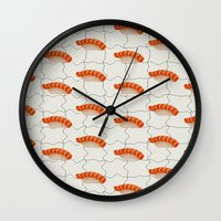 sushi Wall Clocks featuring Sushi by [Oxz]