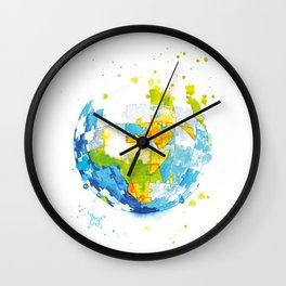 Worldpuzzle Wall Clock
