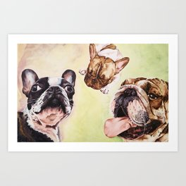 Bullie for You Art Print
