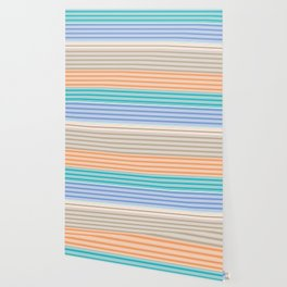 Cool Summer Stripes Wallpaper