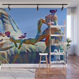 Art by Birdies Wall Mural