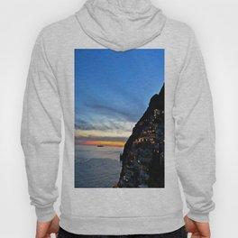 Amalfi Coast Positano, Italy at Sunset Hoody