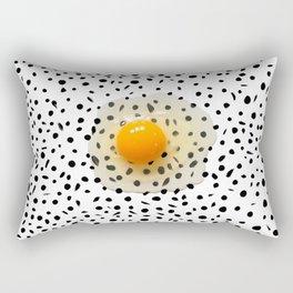 Egg Over Freckles Rectangular Pillow