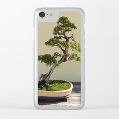 Bonsai Bonanza Clear iPhone Case