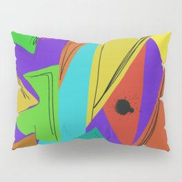 Cages at the Border #Abstract #Geometric #PoliticalArt Pillow Sham