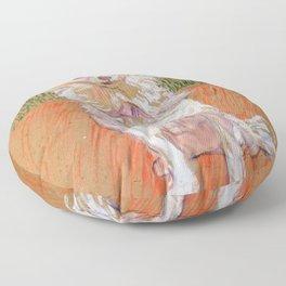 """Henri de Toulouse-Lautrec """"Follette"""" Floor Pillow"""