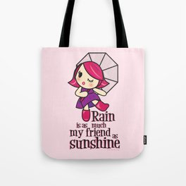 Rain & Sunshine Tote Bag