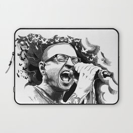 rest in peace chester-be Laptop Sleeve