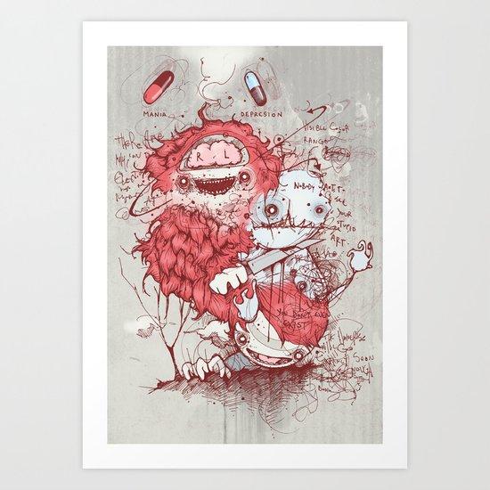 Dr Jekyll Art Print