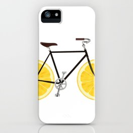 Lemon Bike iPhone Case