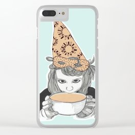 Birthday witch Clear iPhone Case