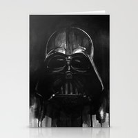 darth Stationery Cards featuring Darth by H.E.art