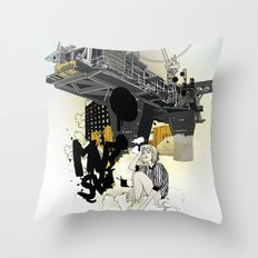 RIG Throw Pillow