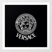 versace Art Prints featuring Versace by I Love Decor