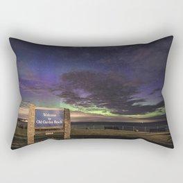 May Aurora at Old Garden Beach Rectangular Pillow