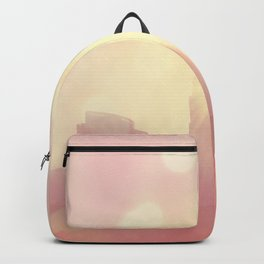 downtown Los Angeles skyline photograph. City of Lights Backpack