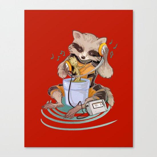 Groovin' Canvas Print