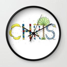 Chris Wall Clock