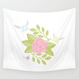 Garden of Fairies Wall Tapestry