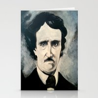 poe Stationery Cards featuring Poe by Christopher Chouinard