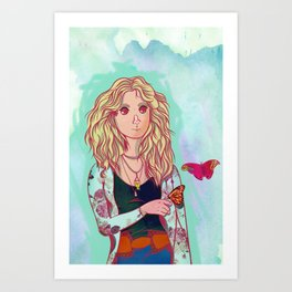 Misty Day Art Print